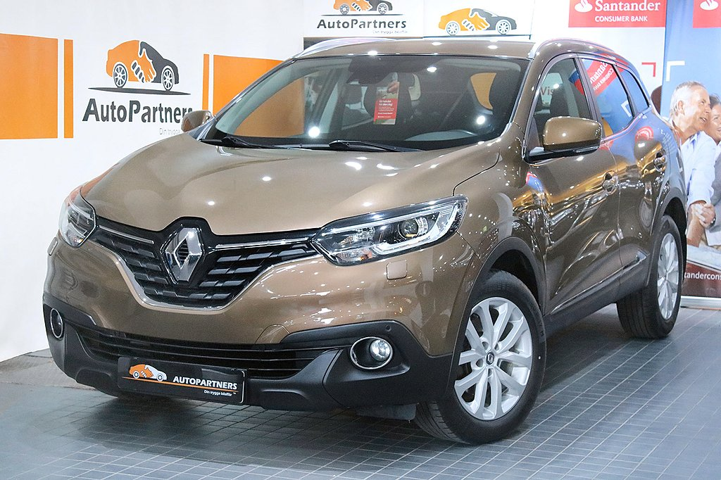 Renault Kadjar 1.5dCi EDC EU6 1-ÄGARE KEYLESS PDC TOPPSKICK!
