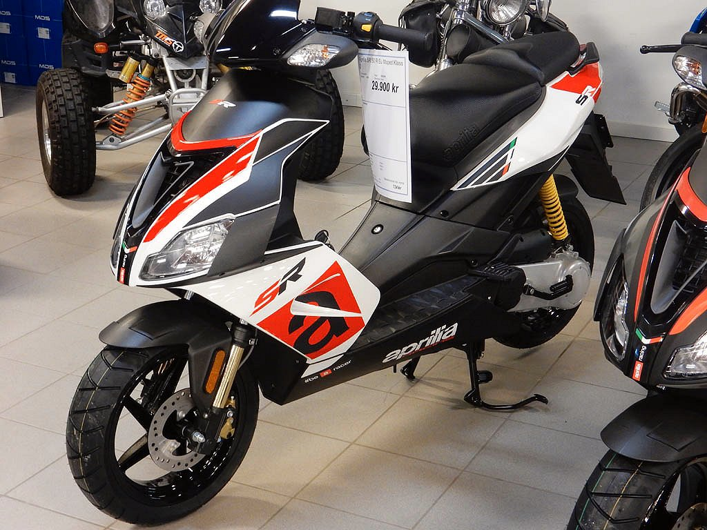 Aprilia SR50 R Eu moped klass 1  2019