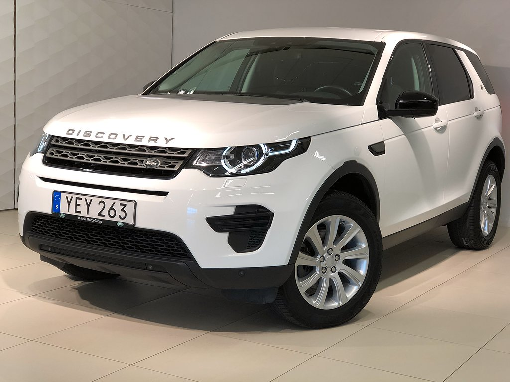 Land Rover Discovery Sport TD4 180 hk