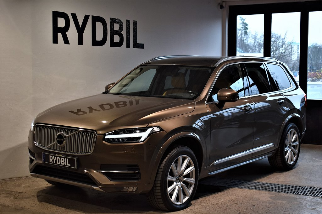 Volvo XC90 D5 AWD Inscription 7-Sits VOC Moms