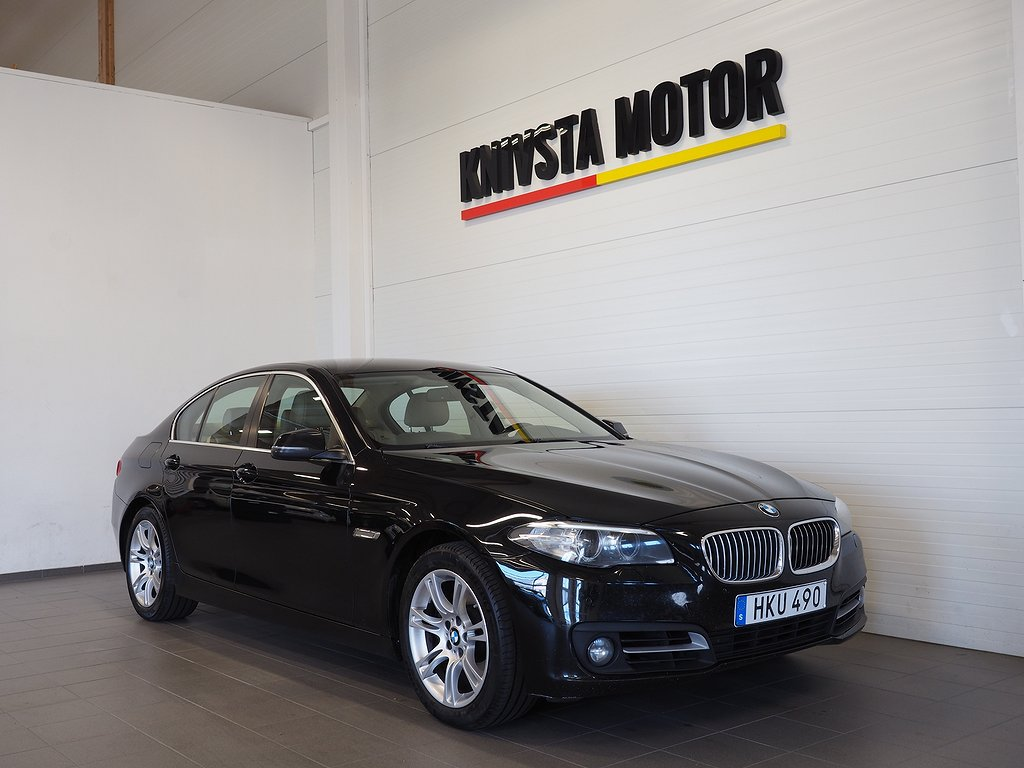 BMW 520 d xDrive Sedan DRAG 184hk 2014