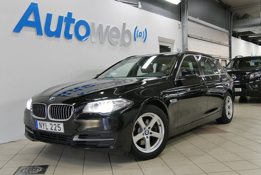 BMW 520 d 184hk xDrive Touring Steptronic Euro 6