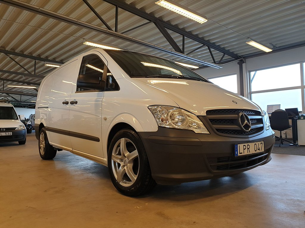 Mercedes-Benz Vito Se hit 7000 Mil H&R Sänkt 40 mm
