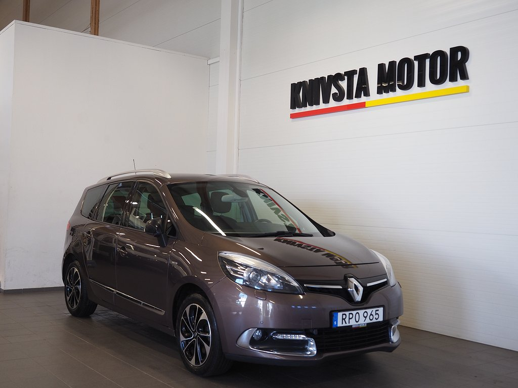 Renault Grand Scénic 1.5 dCi Automat Euro 6 7-sits Bose 2016