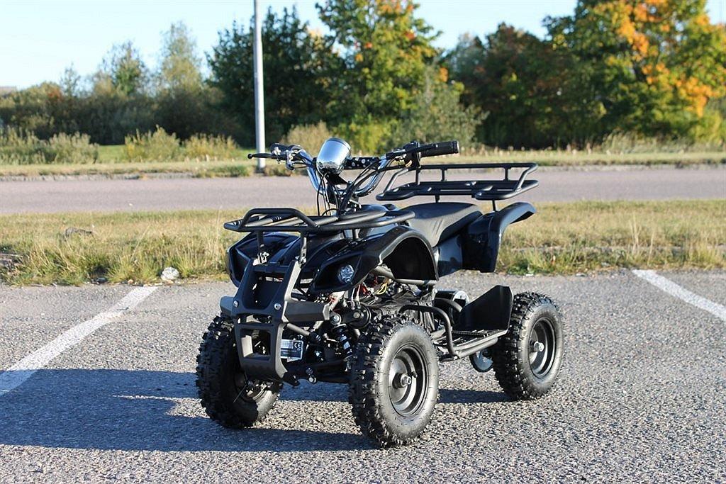 ATV Worker 800W El med back! 3st fartlägen