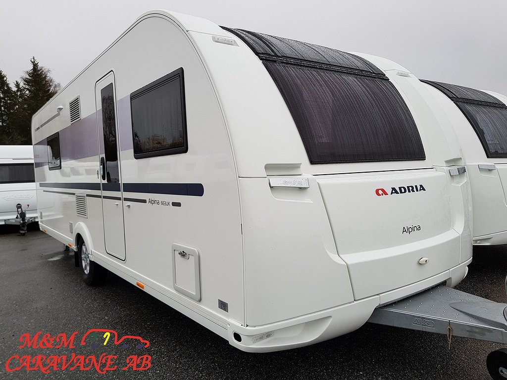 Adria Alpina 663 UK Barnkammare