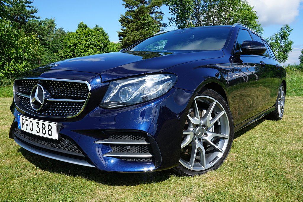 Mercedes-Benz E 43 T 4MATIC AMG BRABUS Optimering