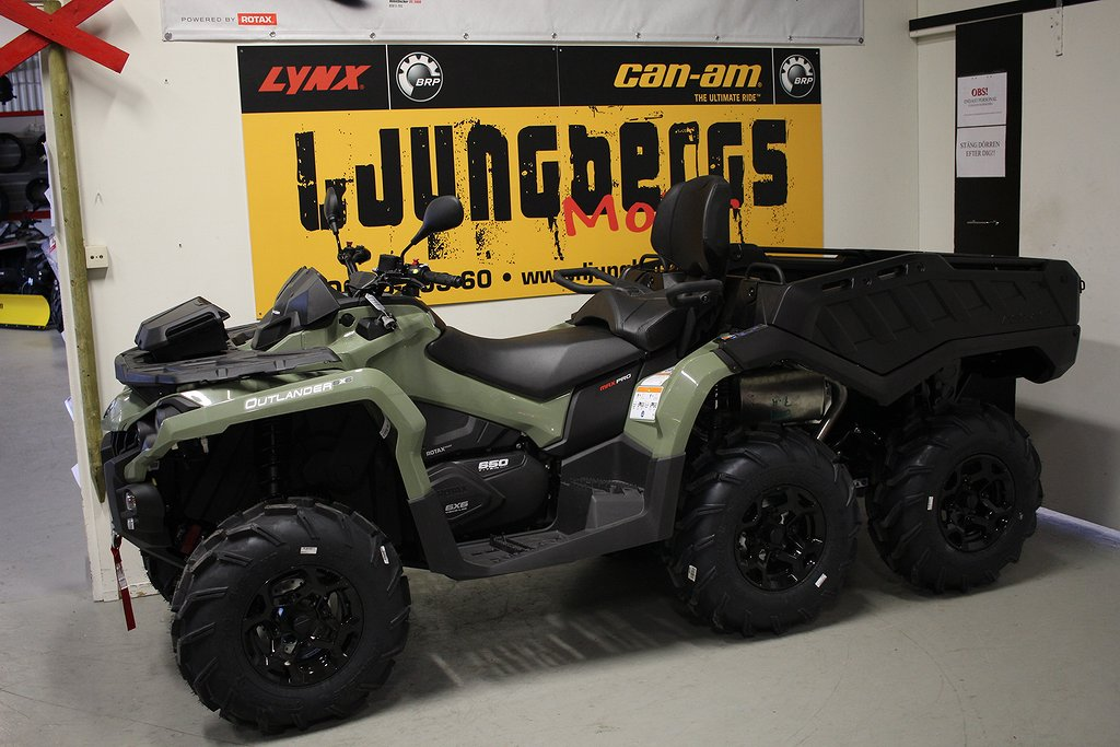 Can-Am Can-Am Outlander 6x6 650 MAX PRO+ T3B