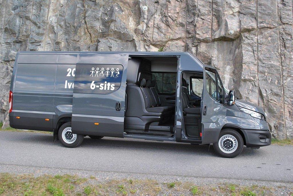 Iveco Daily 35S18H 6-Sits MultiCab 180hk Lång WB