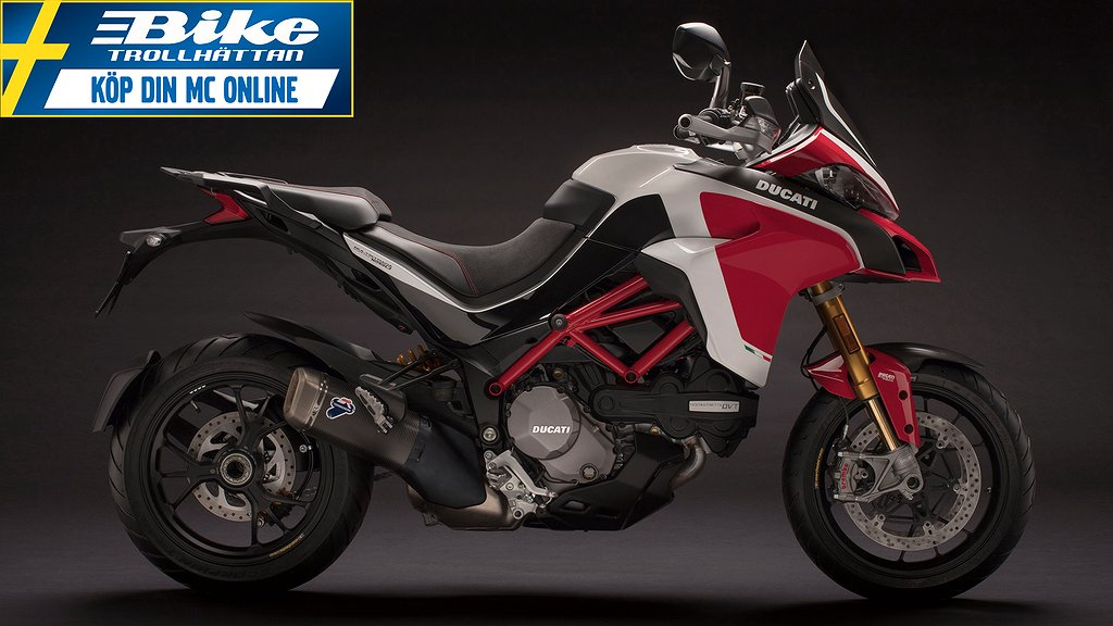Ducati MTS 1260 Pikes Peak Touring 10000kr i presentkort