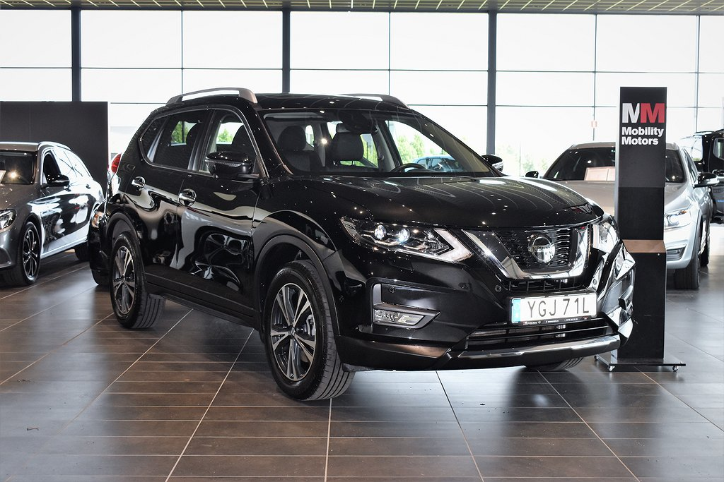 Nissan X-Trail 1.7 dCi 4WD XTRONIC N-Connecta 7-sits / Demo