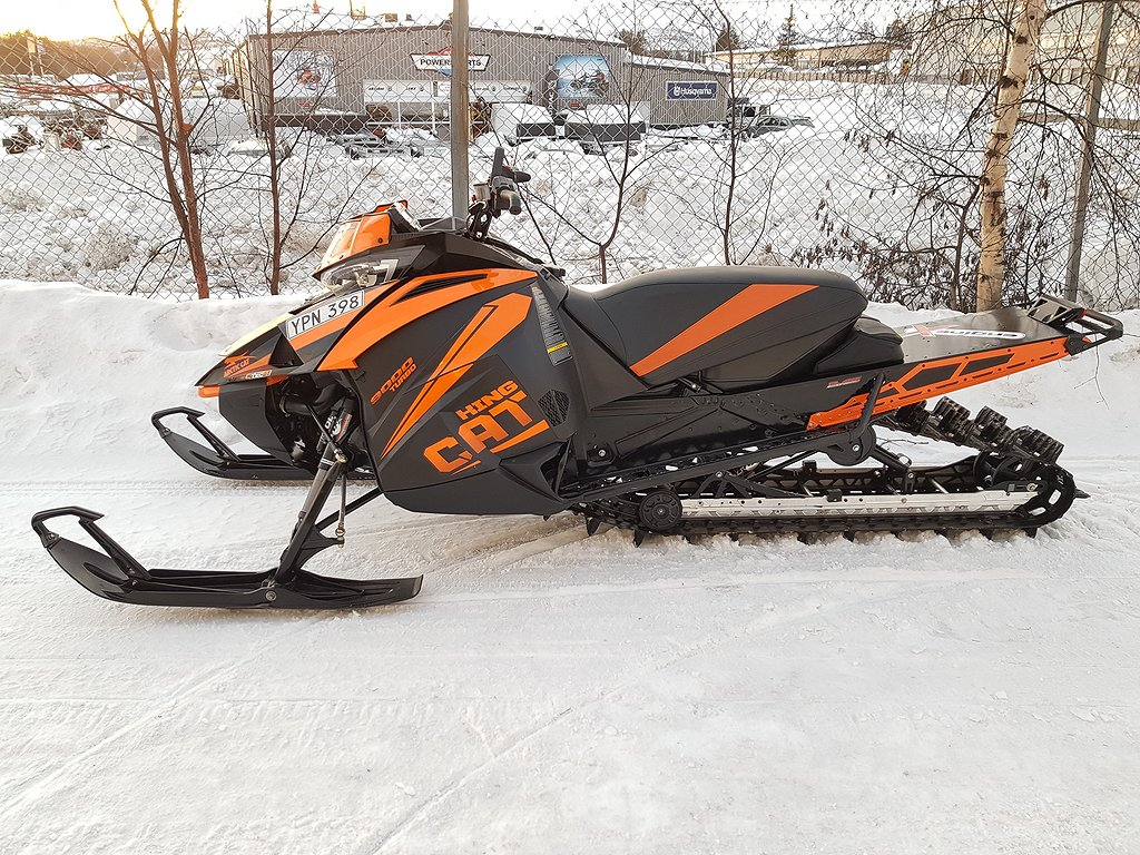 Arctic Cat KING CAT 9000 TURBO 153``