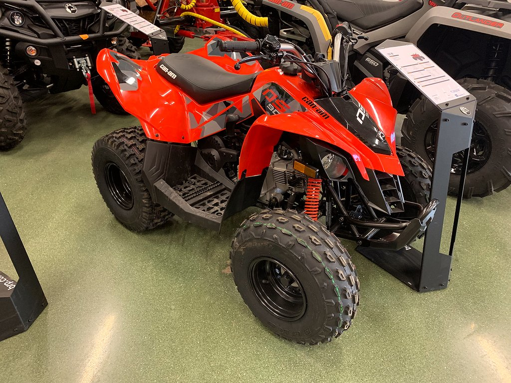 Can-Am DS STD 90 Can-Am Red Terräng 2019
