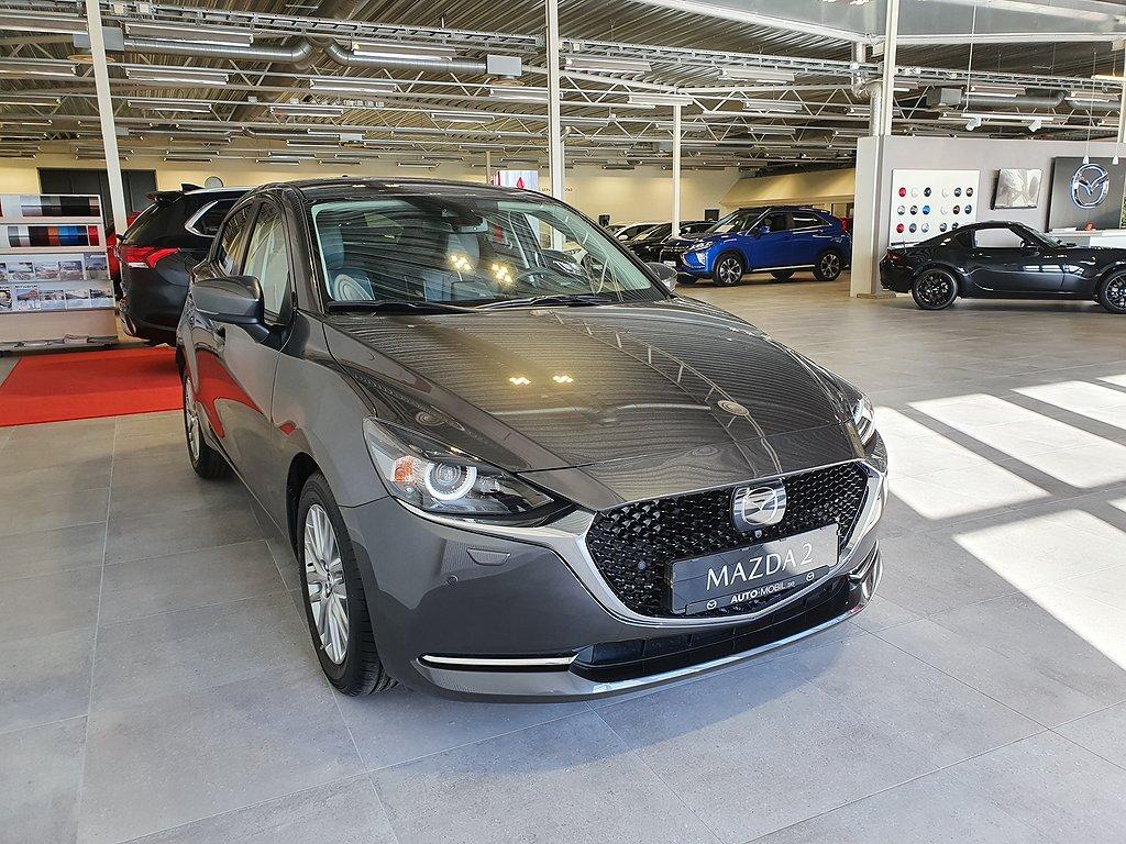 Mazda 2 1.5 90 hk Optimum Mildhybrid