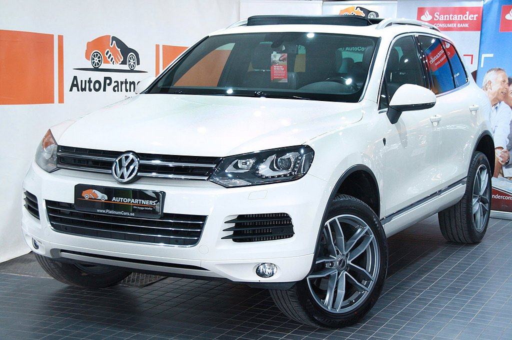 Volkswagen Touareg 3.0TDI 4M 240hk PANORAMA