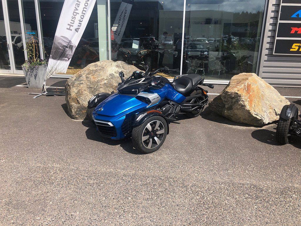 Can-Am Spyder F3 S # Demo #