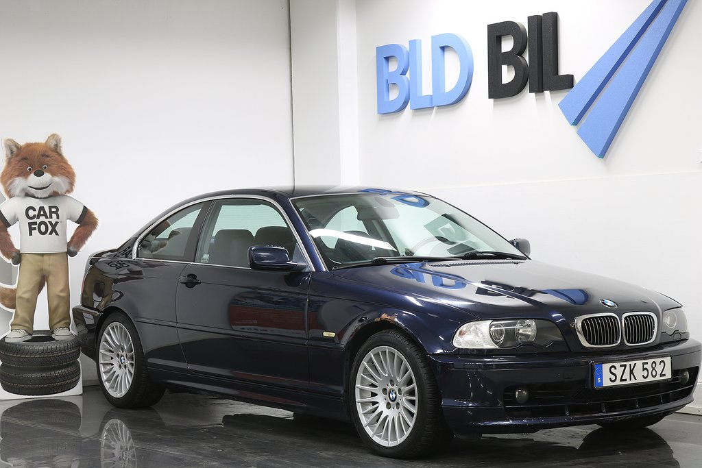 BMW 320 2.0 COUPE FULLSERVAD NYBES 170hk