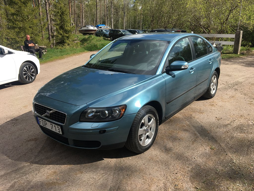 Volvo S40 1.8 Flexifuel Kinetic 125hk