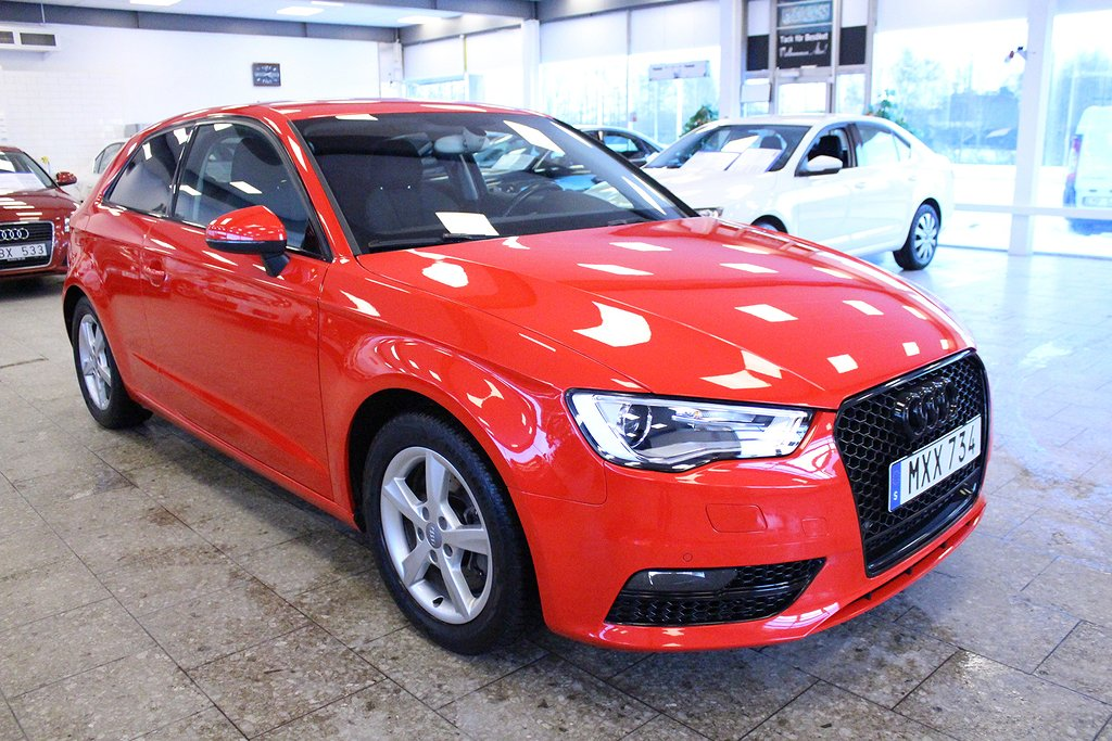 Audi A3 1.8 TFSI S Tronic Ambition 180hk Nyservad