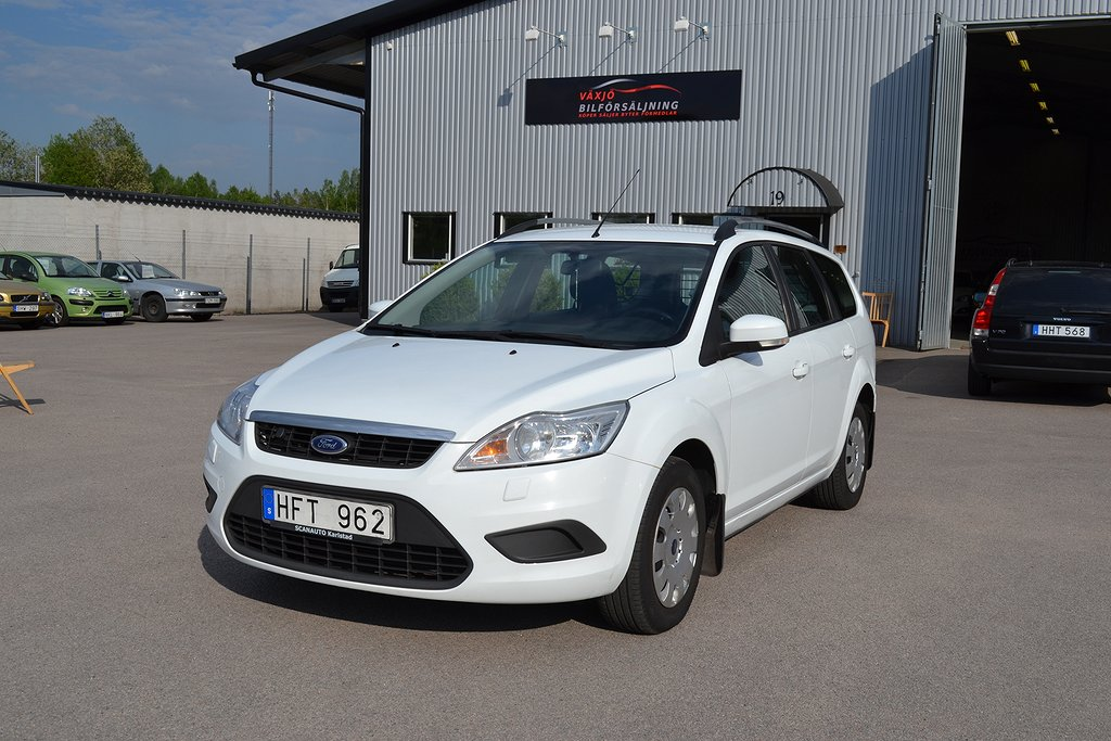 Ford Focus 1.8 Flexifuel NYBES DRAGKROK