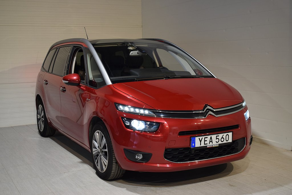 Citroën C4 Picasso 2.0 HDi Executive 7-sits Panorama Navigation 2016