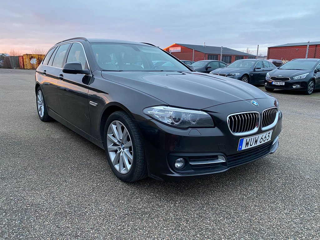 BMW 520 d Touring Steptronic Euro 6 190hk