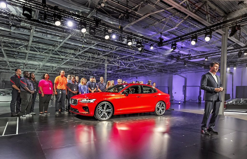 Launch of the New Volvo S60 in Charleston, South Carolina