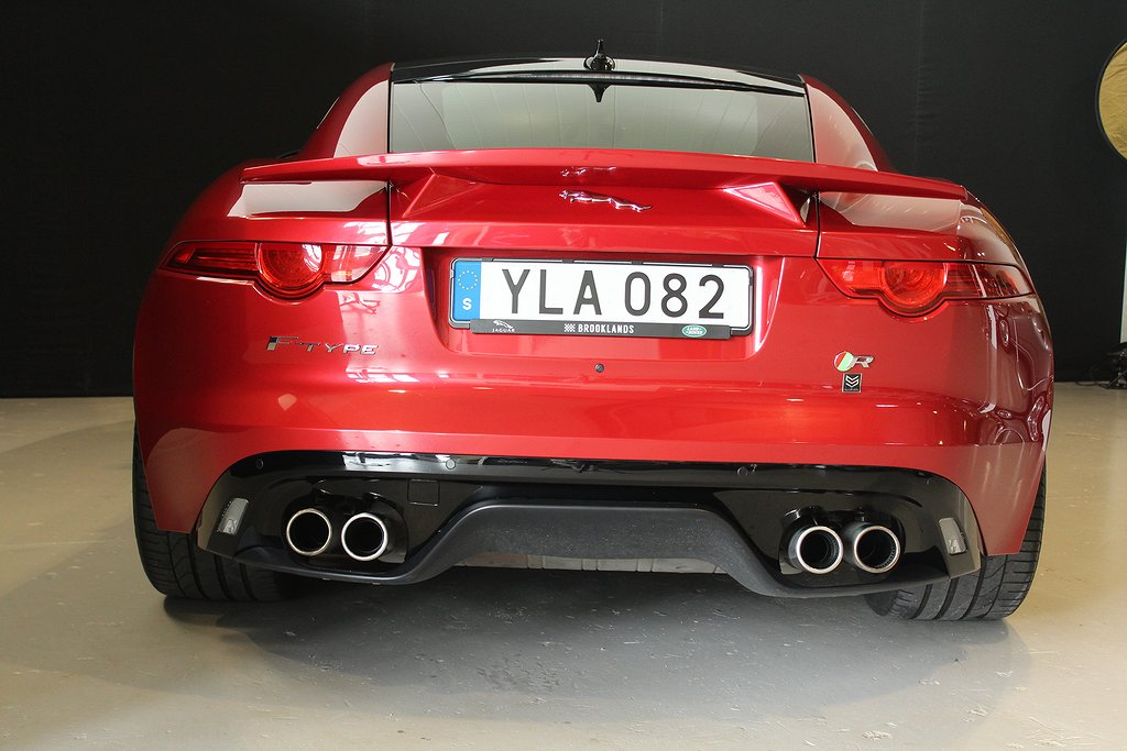 Jaguar F-Type R V8 Coupé 550hk