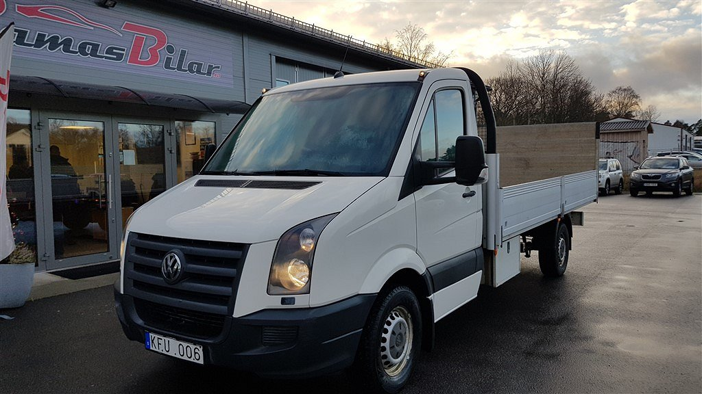Volkswagen Crafter Chassi 2.5 TDI Manuell, 163hk