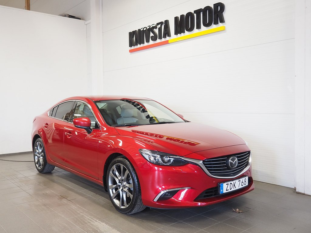 Mazda 6 Sedan 2.5 Optimum Aut Webasto värmare 2018