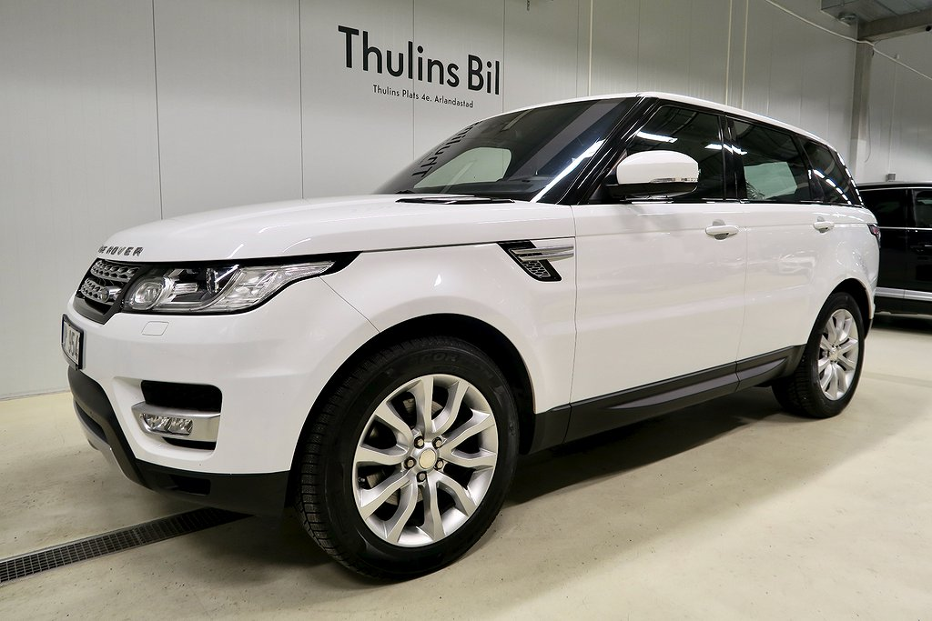 Land Rover Range Rover Sport 3,0 S/C HSE / 7-sits / 1 Ägare