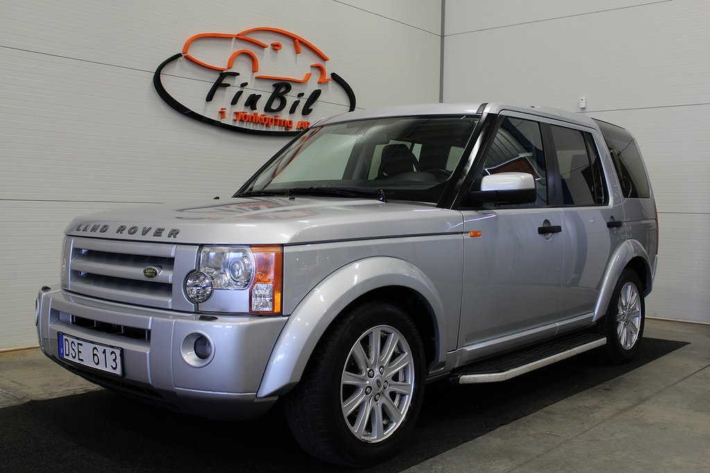 Land Rover Discovery 2.7 TDV6 4WD,OBS 7000 MIL, HSE 7-sits 190hk,