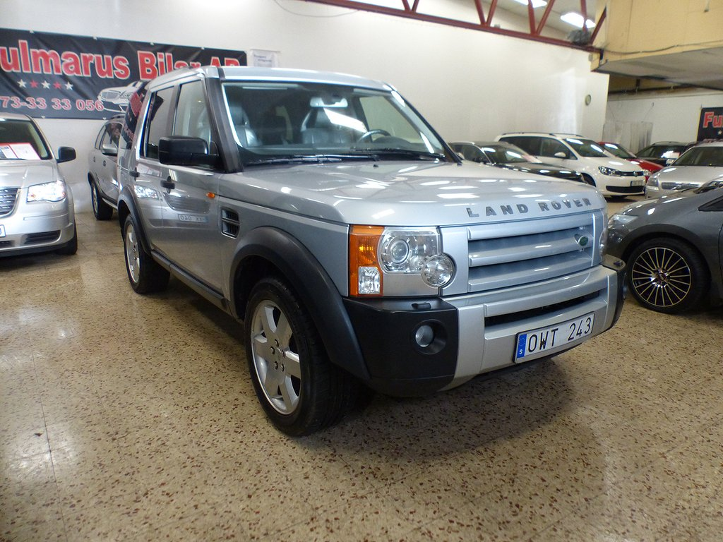Land Rover Discovery 2.7 TDV6 4WD Automat 7-sits 190hk