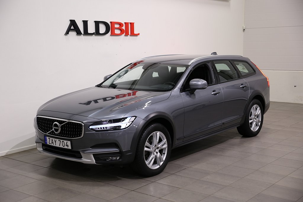 Volvo V90 Cross Country D4 190hk AWD Business Advanced Aut / Läder / T