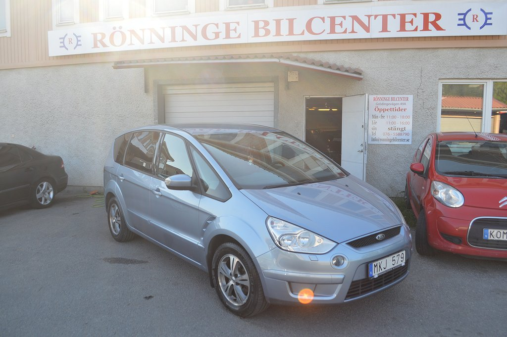 Ford S-Max 2.0 7-SITS  DRAG  NYBES NYSERVAD
