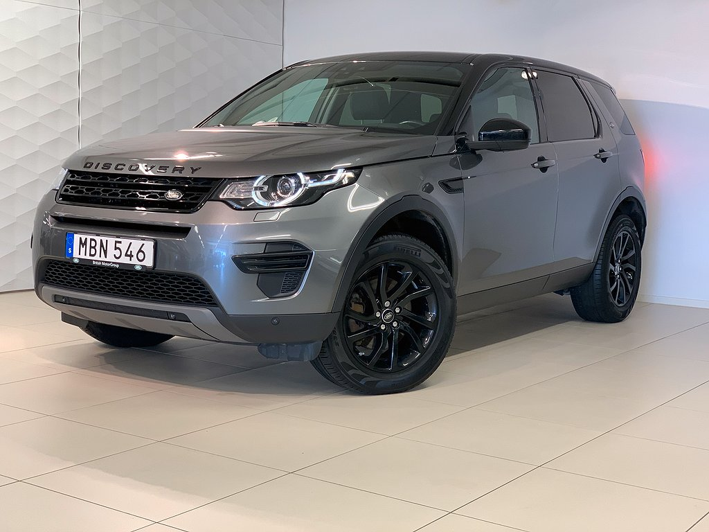 Land Rover Discovery Sport TD4 (180 hk) Dragkrok Panorama