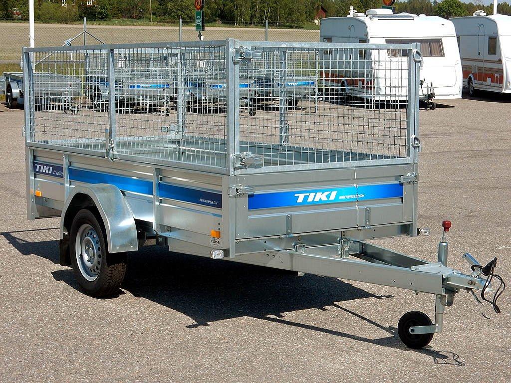 Tiki-Treiler CS265-R 750Kg  Släp Gridsats 70Cm Stödhjul