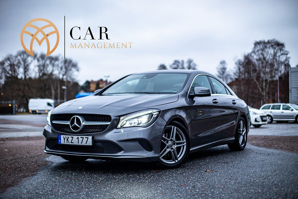 Mercedes-Benz CLA 200, Backkamera, Euro 6, 156hk