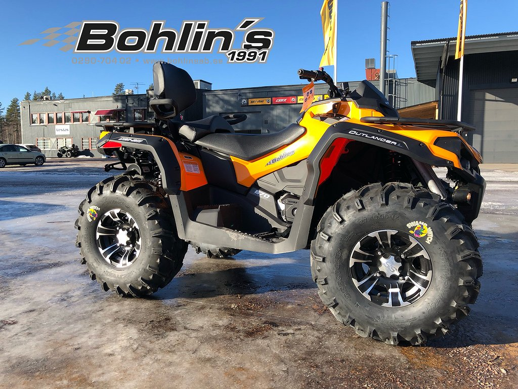 Can-Am OUTLANDER MAX 570 ABS T3 -18 *KAMPANJ*