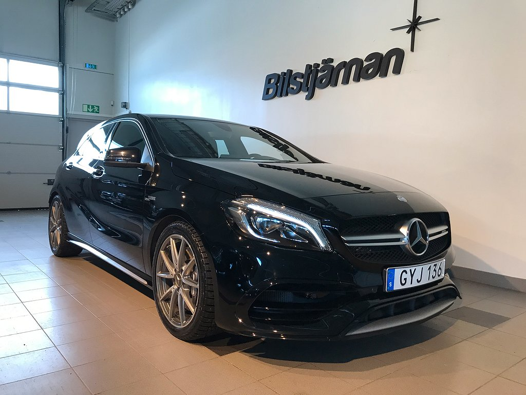 Mercedes-Benz AMG A 45 4MATIC AMG Speedshift DCT Euro 6 381hk
