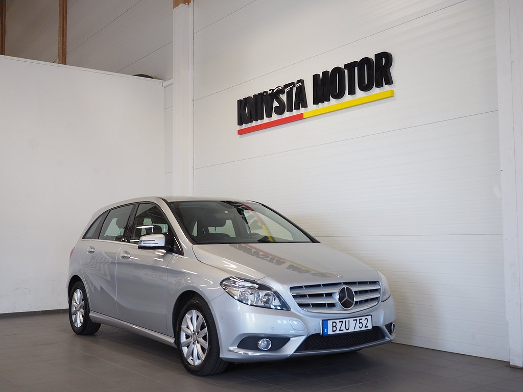Mercedes-Benz B 180 BlueEFFICIENCY 122hk 2013