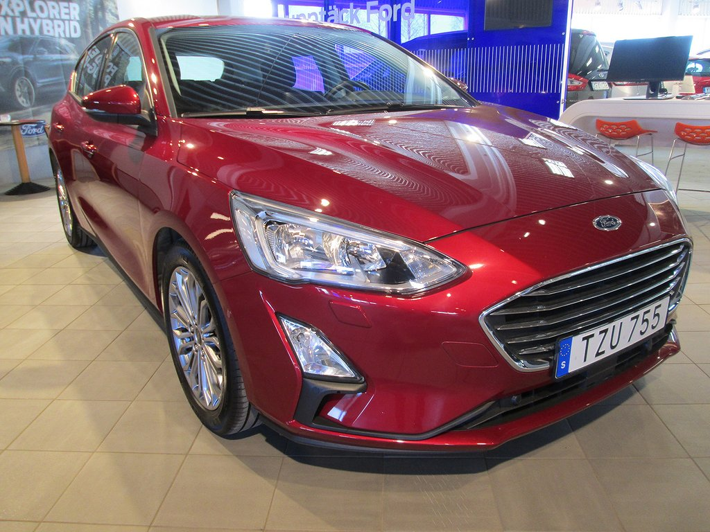 Ford Focus 1.0 T (125hk) Titanium Launch Edition