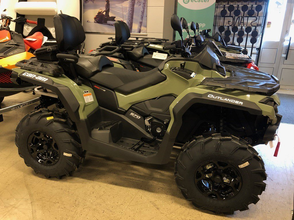Can-Am Outlander 570 MAX PRO + T3B