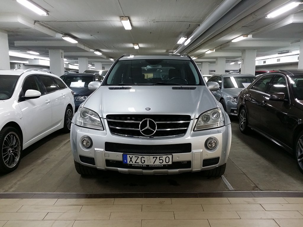 Mercedes-Benz ML 63 AMG 4MATIC AMG  Plus 7G-Tronic Exclusive Leather 510hk