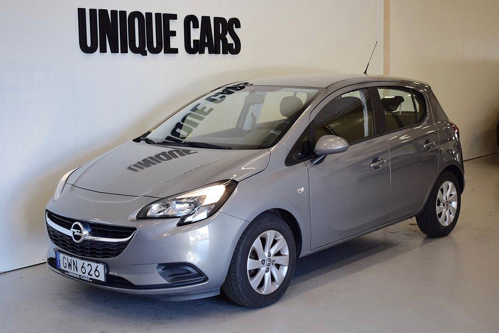 Opel Corsa 5-dörrar 1.4 90hk Automat Nyservad