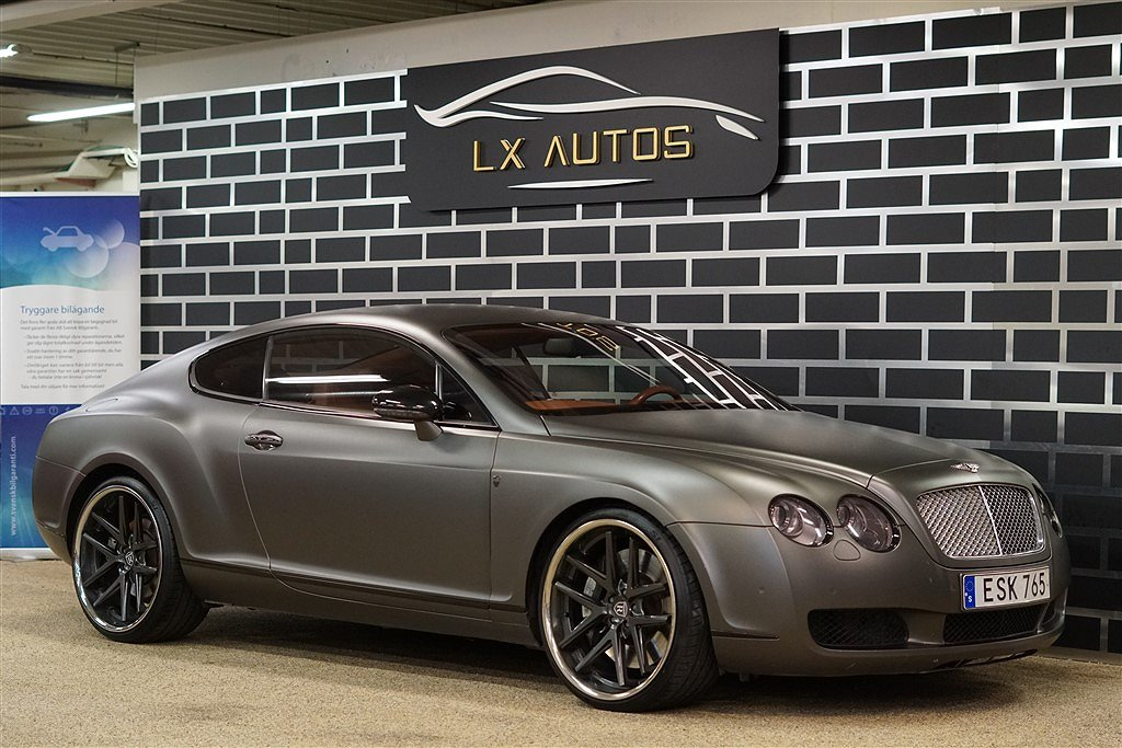 Bentley Continental GT 6.0 V12 560Hk / Mulliner / MATT