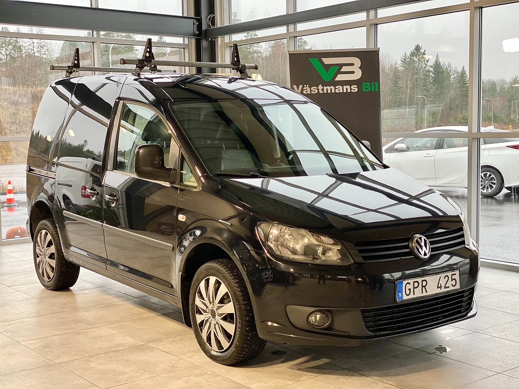 Volkswagen Caddy 2.0TDI 110hk/4Motion/drag