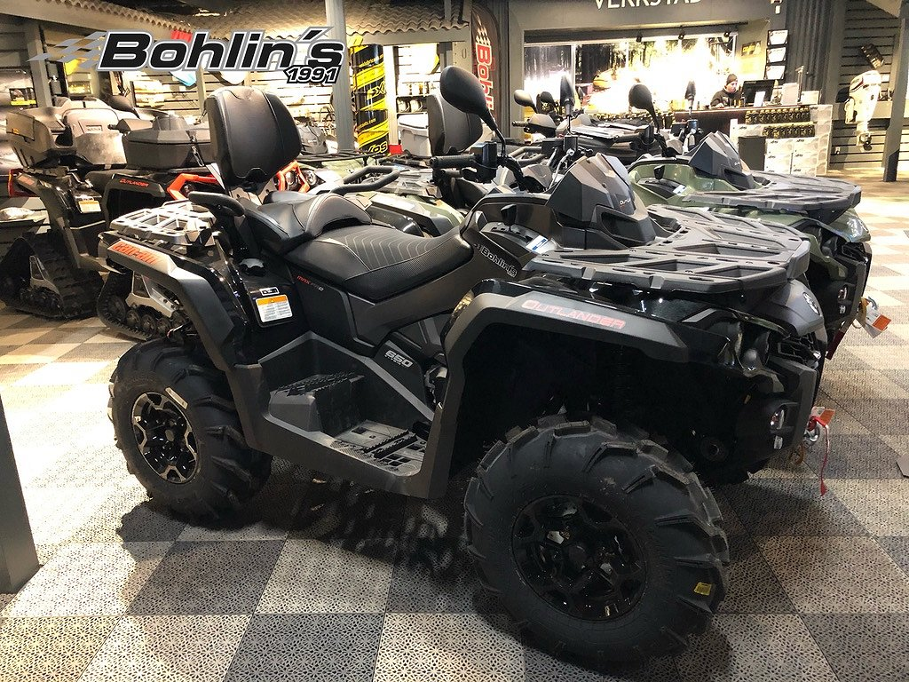 Can-Am Outlander 650 Max PRO+ T3B -20