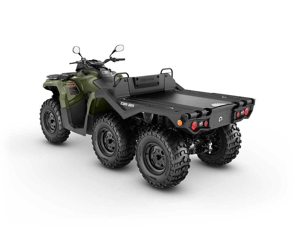 Can-Am Outlander 650 6X6 Flat Bed