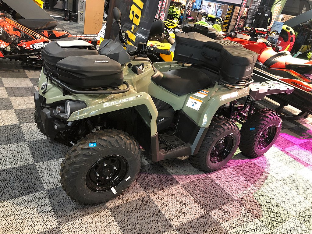 Can-Am Outlander 6X6 450T